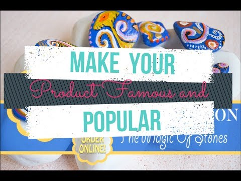 Photoshop Tutorial - How To Make Your Product Famous And Popular