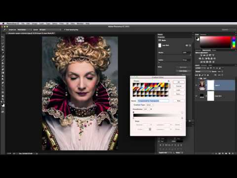 How to blur or fade edges in Photoshop CC
