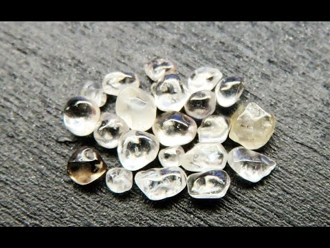 How to Find and Pan for Diamonds