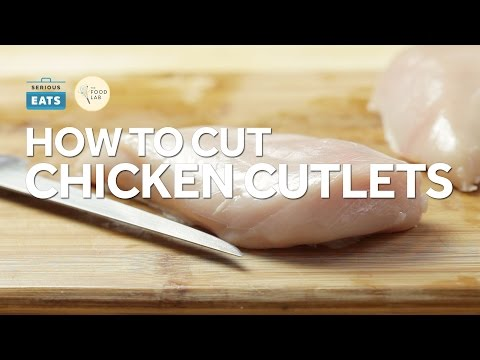 How to Cut Chicken Breasts into Cutlets