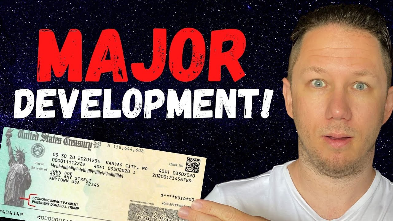 MAJOR DEVELOPMENT!! | Fourth Stimulus Check Update | Stimulus Package Update | Daily News