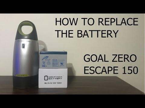 How To Replace the Goal Zero Battery