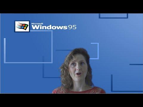 Mum Tries Out Windows 95 (1995)