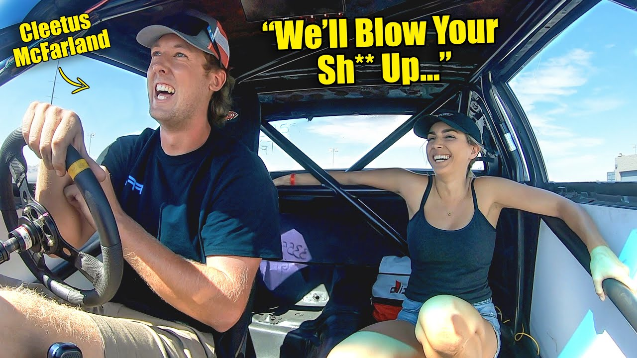 Florida Man YouTuber Street Tunes 1500hp Twin Turbo LS Buick... ft Cleetus McFarland (LS Fest Day 1)