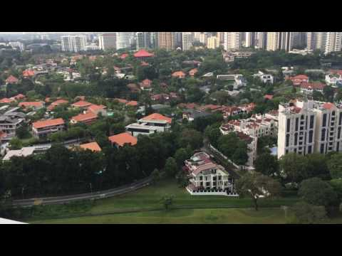 The Crest Skybar unblocked view of the largest GCB area in Singapore