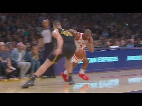 CP3 Dribbles Through Legs! Andre Ingram NBA Debut 32 Years Old! 2017-18 Season