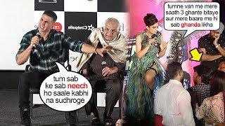 See Akshay Kumar Support Kangana Ranaut Big FIGHT against Media