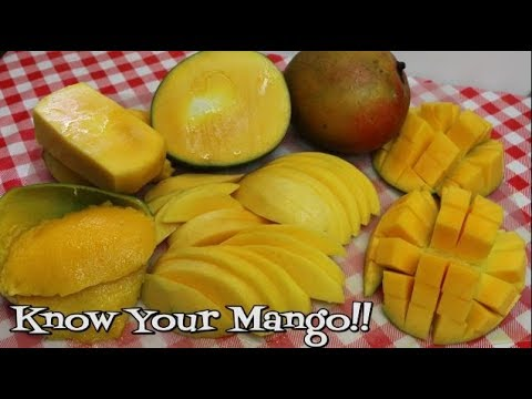 How to Choose the Perfect Mango ~ How to Cut A Mango ~ Pick Your Produce ~ Mangos ~ Noreen's Kitchen