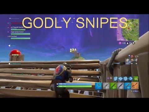 Fortnite Battle Royale - Godly Snipes