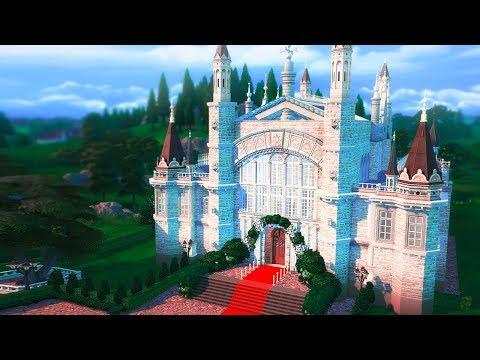 SIMS 4 ROYAL WEDDING CHURCH | Speed Build