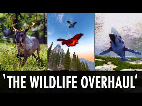 Skyrim Mods: 'The Wildlife Overhaul' - Land, Sea & Air