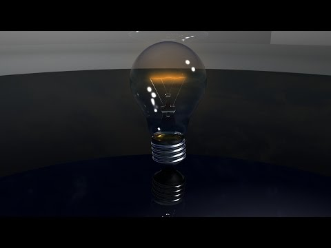 How to model a Light Bulb in Maya 2015