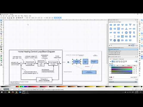 Inkscape - Basic Flow Charts