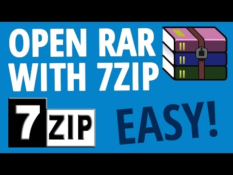 Use 7zip to open RAR file | DOWNLOAD LINK