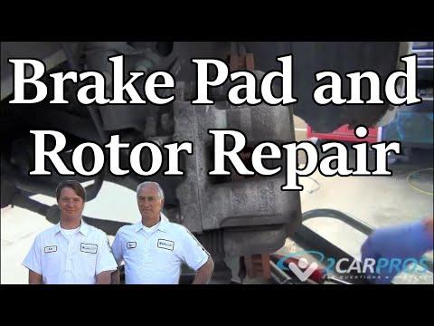 Rear Brake Pad and Rotor Replacement Hyundai Sonata 2009-2014