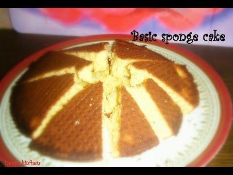 Basic sponge cake recipe in tamil