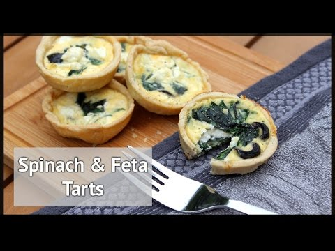 Easy Feta and Spinach Tarts | xameliax