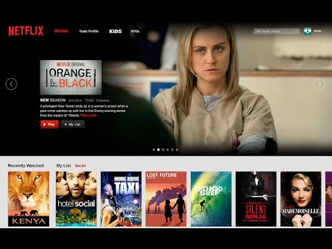 Great Netflix alternative no ads, just click and play