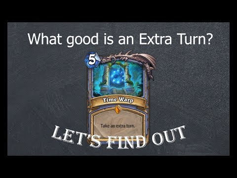 Hearthstone Theory: The Power of an Extra Turn