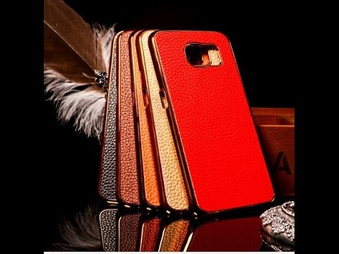 samsung galaxy s6  Leather Case from ebay