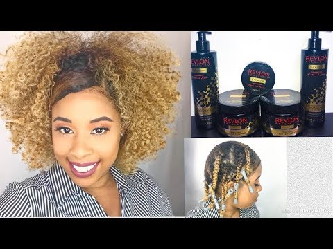 Braid-Out Using Revlon Realistic Products