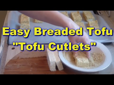 Tofu Cutlets - Easy Breaded Tofu Recipe