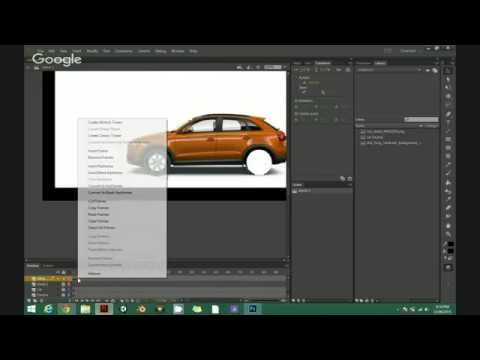 How to make car move in Flash CSS
