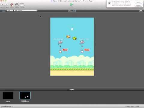 Flappy Bird multiplayer gamesalad template