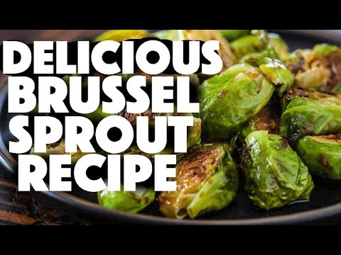 How to make roasted brussel sprouts - vegan recipes - low carb - cooking brussel sprouts - brussels