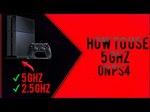 How To Use 5 GHz On PS4 | Tutorial