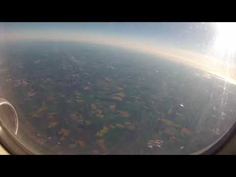 Taxi & Runway 32 Take-off from Leeds Bradford Airport, and flight to North Lincs Coast: 14/05/18