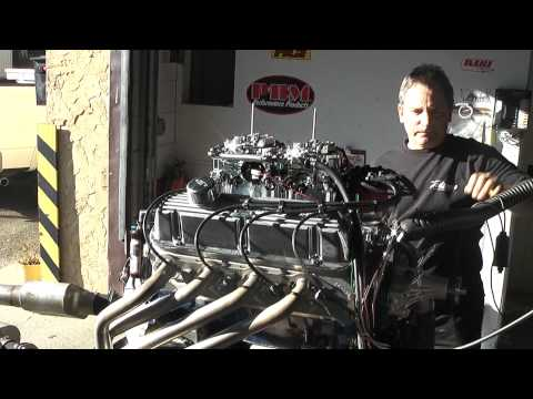 408W Stroker Engine With Dual Carbs