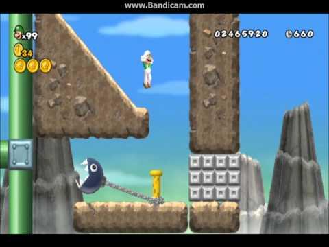 New Super Mario Bros Wii Custom Stages