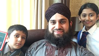 Hafiz Ahmed Raza Qadri | Live with British Kids | Ibrahim & Zainab from London | Jummah Kareem