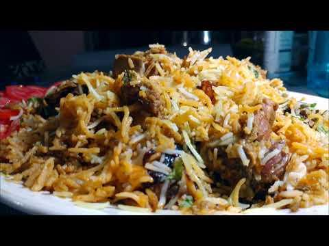 Hyderabadi Mutton Dum Biryani with English Subtitle / Kacche gosht ki Dum Biryani  / Eid Special