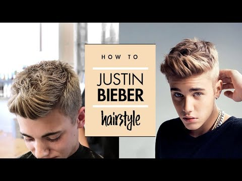 Justin Bieber Hair Tutorial - Men's Celebrity Hairstyle - By Vilain Gold Digger