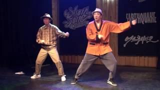 [직캠] Red Big Space(홍대) - Dance Performance 1부 Funk Real Move By 원래곱슬 (170326)