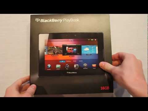 Unboxing my free BlackBerry PlayBook