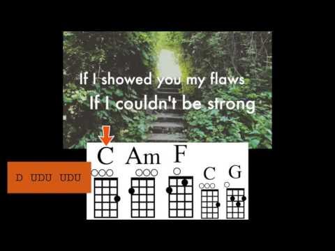 Locked Away with ukulele chord guide - Adam Levine & R. City