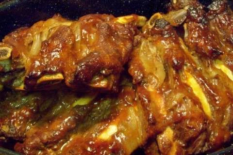 Easy Oven Baked Tender BEEF BBQ Ribs - I Heart Recipes