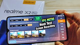 Realme X2 Pro Pubg and Heat Test