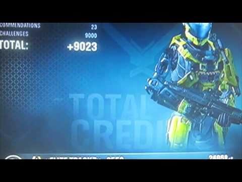 Halo Reach Credit Glitch - 30,000Cr in 5 mins
