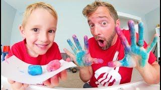 FATHER & SON MAKE DELICIOUS BUBBLE GUM!