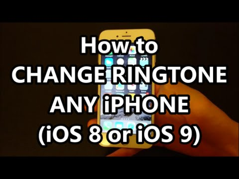 iPhone 6 Change Ringtone (How to Any iPhone Model iOS 9)