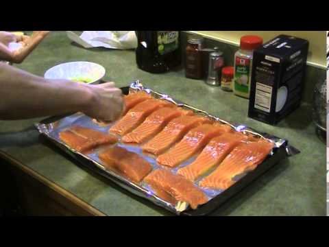 Blacken Salmon: Stage 1: Seasoning