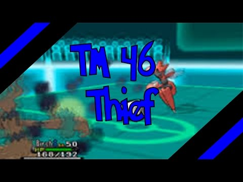 How To Get TM 46 - Thief In Omega Ruby and Alpha Sapphire (Oras)
