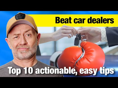 Top 10 Ways to Beat a Car Dealer | Auto Expert John Cadogan | Australia