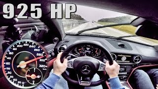 Mercedes E63 AMG Coupe 925 HP GAD 5.8 V8 BiTurbo POV Autobahn DRIVE by AutoTopNL