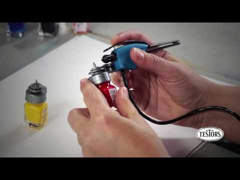 Getting Started with your Testors Amazing Air or Snap and Spray Airbrush