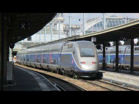 Trains at Paris Gare de Lyon - August 21st, 2015